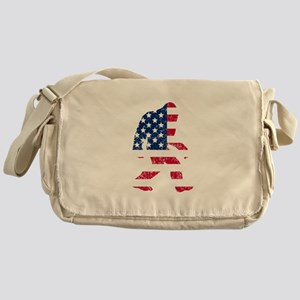 American Bigfoot Messenger Bag