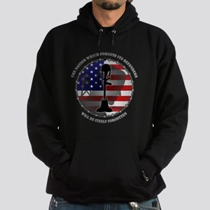 The Nation Which Forgets Its Defende Hoodie (dark)