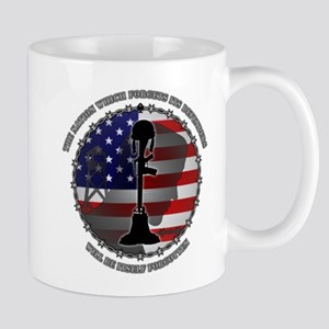 The Nation Which Forgets Its Defenders Mug