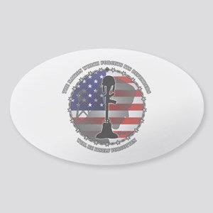 The Nation Which Forgets Its Defend Sticker (Oval)
