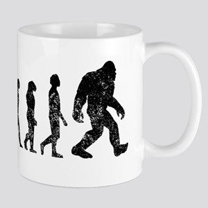 Bigfoot Evolution Mugs