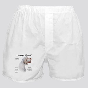 Clumber Spaniel Boxer Shorts