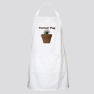 Potted Pug BBQ Apron