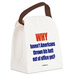 WHY? Canvas Lunch Bag