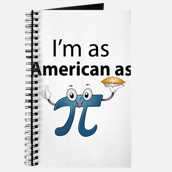 Im as American as Apple Pie Journal