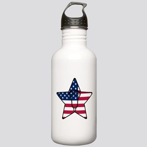 Lacrosse_Star_Head_Full Water Bottle