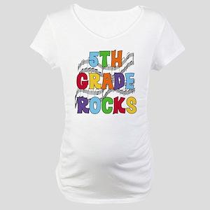 Bright Colors 5th Grade Maternity T-Shirt