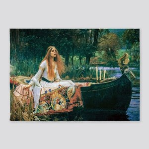 Waterhouse: Lady of Shalott 5'x7'Area Rug