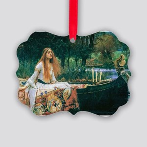 Waterhouse: Lady of Shalott Picture Ornament