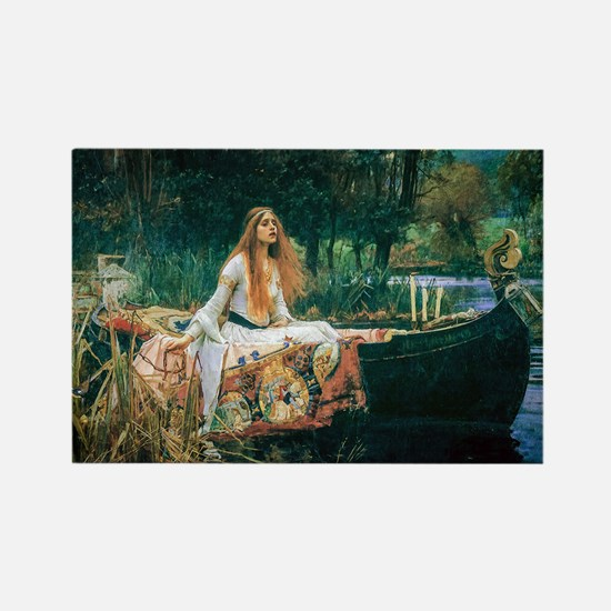 Waterhouse: Lady of Shalott Rectangle Magnet