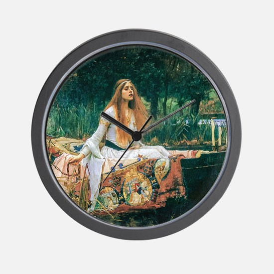 Waterhouse: Lady of Shalott Wall Clock