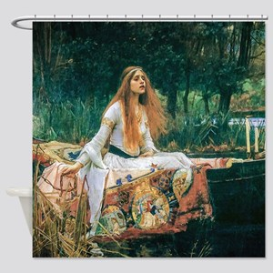 Waterhouse: Lady of Shalott Shower Curtain