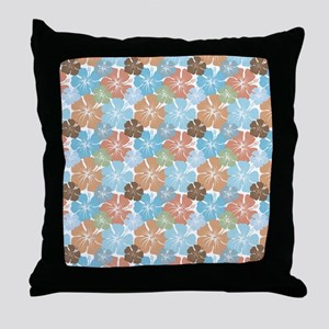 Hawaiian Hibiscus Floral Throw Pillow