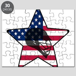 Lacrosse Flag Star Helm Puzzle