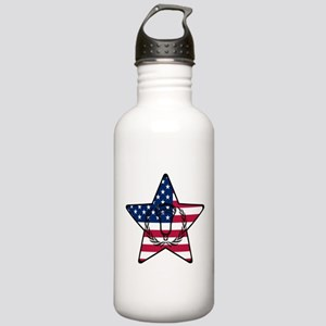 Lacrosse Flag Star VW Stainless Water Bottle 1.0L