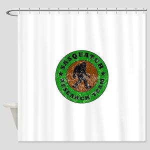 Sasquatch Research Team Shower Curtain
