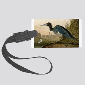 Audubon Blue Crane Heron from Birds of America Lug