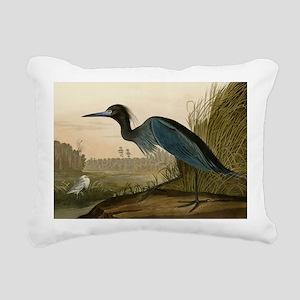 Audubon Blue Crane Heron from Birds of America Rec
