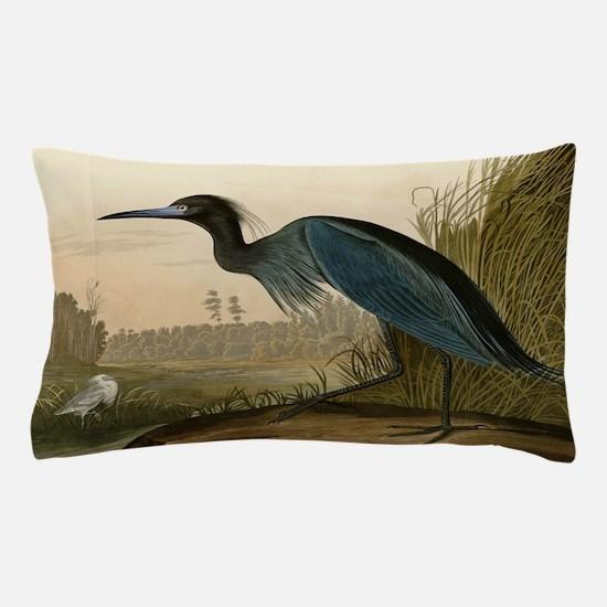 Audubon Blue Crane Heron from Birds of America Pil