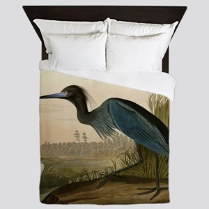 Audubon Blue Crane Heron from Birds of America Que