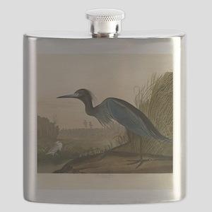 Audubon Blue Crane Heron from Birds of America Fla