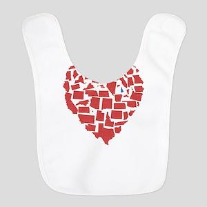 New Hampshire Heart Bib