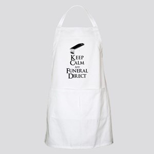 Keep Calm and Funeral Direct Apron
