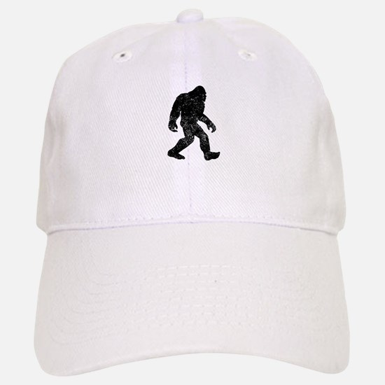 Bigfoot Silhouette Baseball Cap