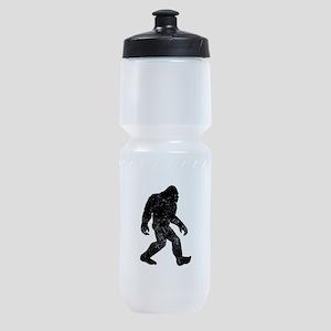 Bigfoot Silhouette Sports Bottle