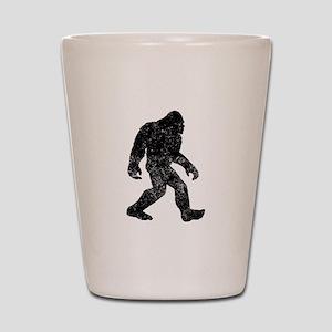 Bigfoot Silhouette Shot Glass