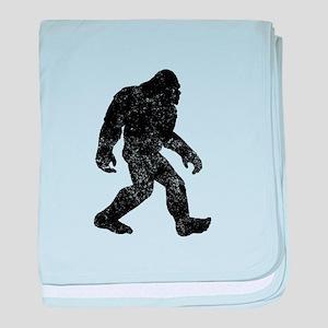 Bigfoot Silhouette baby blanket