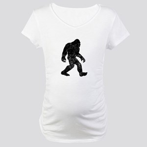 Bigfoot Silhouette Maternity T-Shirt