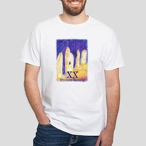 Stones Rising Xx - Custom White T-Shirt