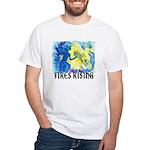 Fires Rising Custom White T-Shirt