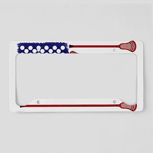 Lacrosse Americas Game License Plate Holder
