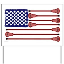 Lacrosse Americas Game Yard Sign