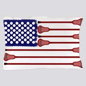 Lacrosse Americas Game Pillow Case