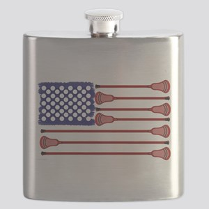 Lacrosse Americas Game Flask