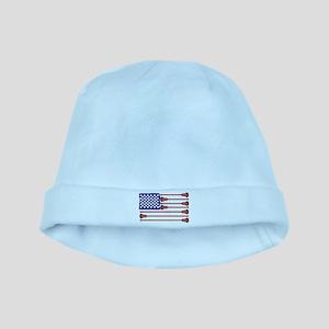 Lacrosse Americas Game baby hat