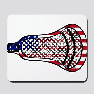 Lacrosse Flag Head 600 Mousepad