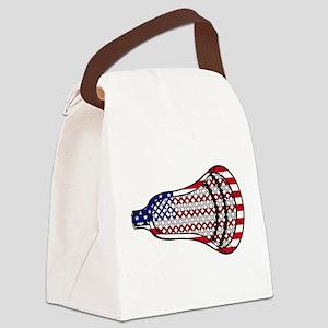 Lacrosse Flag Head 600 Canvas Lunch Bag