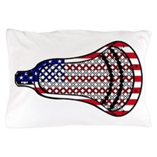 Lacrosse Flag Head 600 Pillow Case
