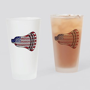 Lacrosse Flag Head 600 Drinking Glass