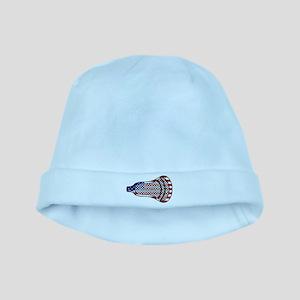 Lacrosse Flag Head 600 baby hat