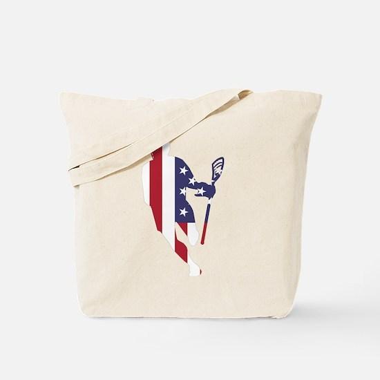 Lacrosse IRollMericaVert. Tote Bag