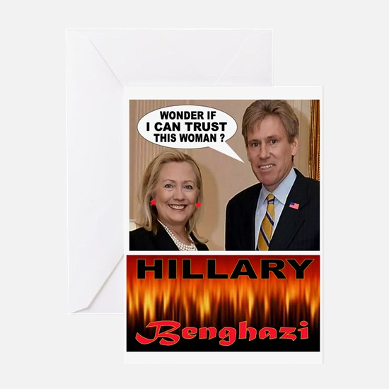 BENGHAZI BELLE Greeting Cards