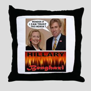 BENGHAZI BELLE Throw Pillow