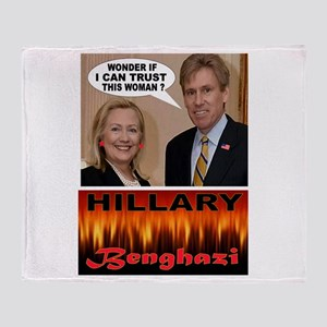 BENGHAZI BELLE Throw Blanket