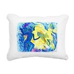 Firesrising Rectangular Canvas Pillow