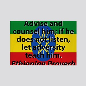 Advise And Counsel Him Magnets